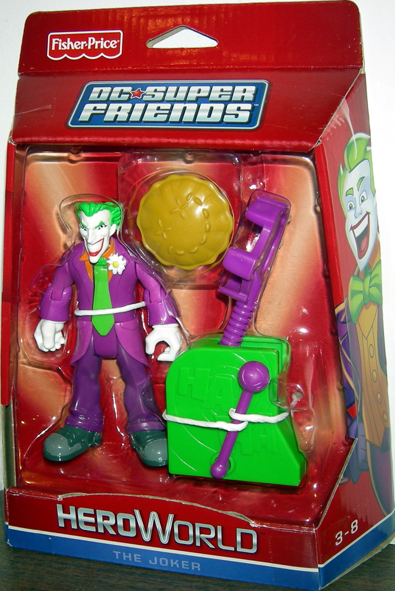 The Joker (DC Super Friends HeroWorld)