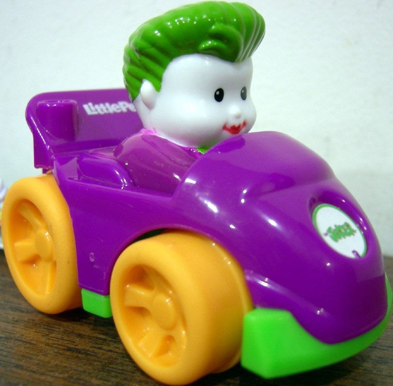 Little People DC Super Friends Wheelies The Joker (Target Exclusive)