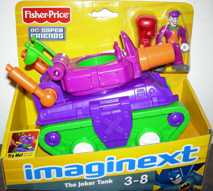 The Joker Tank (Imaginext)