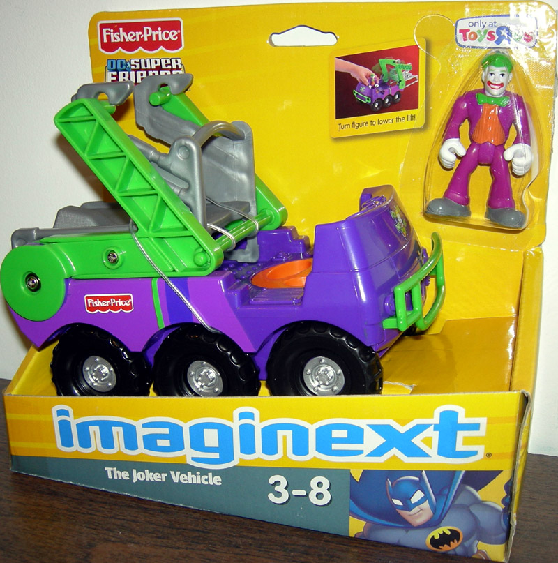 The Joker Vehicle (Imaginext)