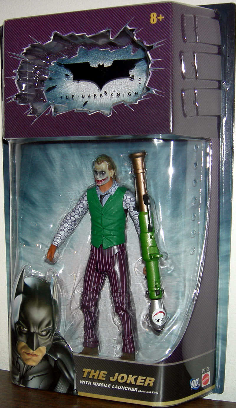 The Joker with missile launcher (The Dark Knight)
