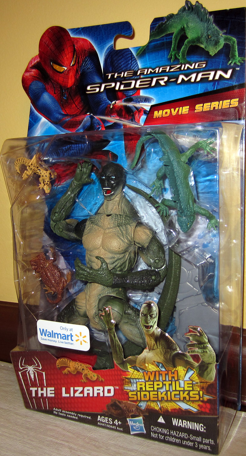 The Lizard (The Amazing Spider-Man Movie, Walmart Exclusive)