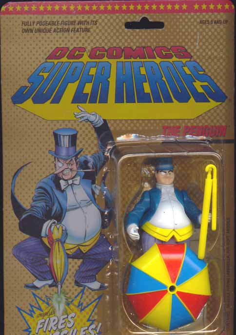 The Penguin (DC Super Heroes with long missile)