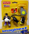 The Penguin with umbrella (Imaginext)