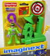 The Riddler with question mark launcher (Imaginext)