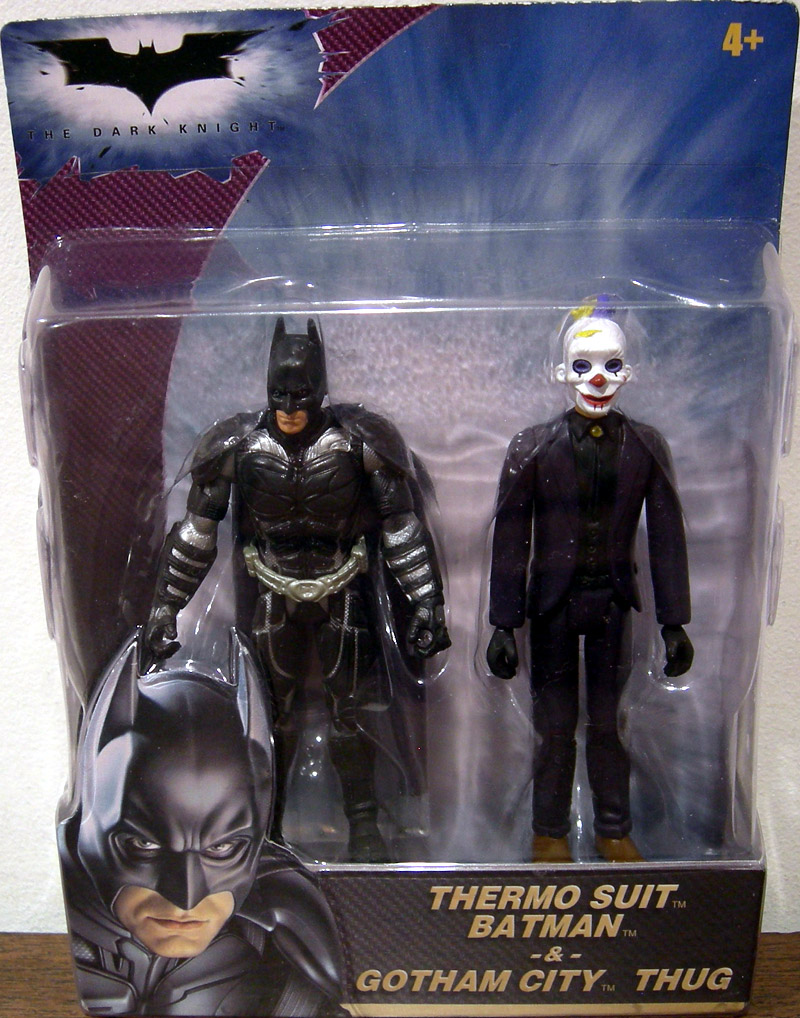 Thermo Suit Batman & Gotham City Thug 2-Pack (The Dark Knight)