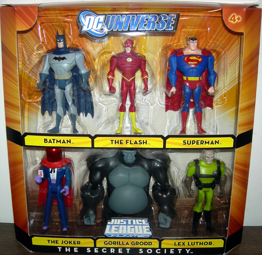 The Secret Society 6-Pack (DC Universe)