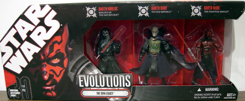 The Sith Legacy 3-Pack (Evolutions)