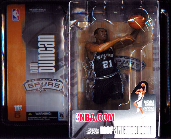 Tim Duncan (series 6, black uniform)