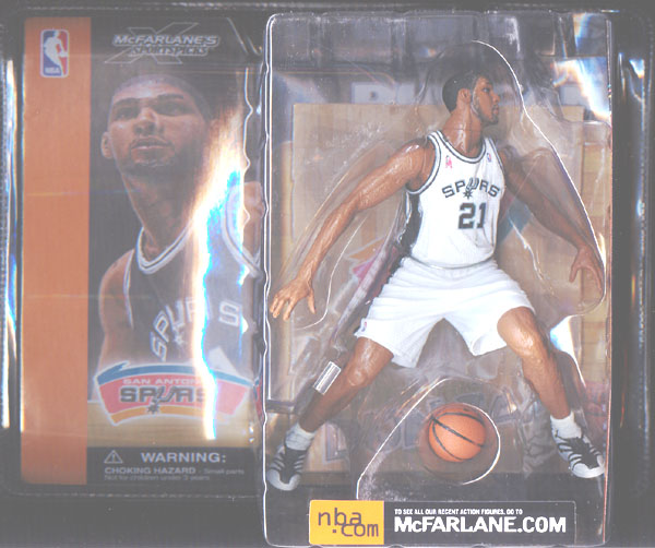 Tim Duncan (series 1, white uniform)