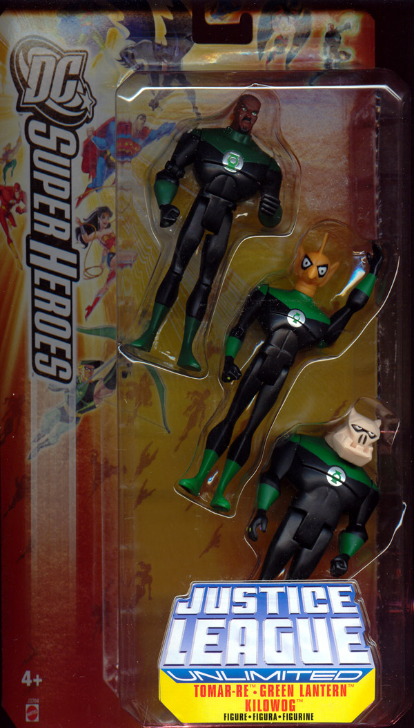 Tomar-Re, Green Lantern & Kilowog 3-Pack (DC Justice League Unlimited)
