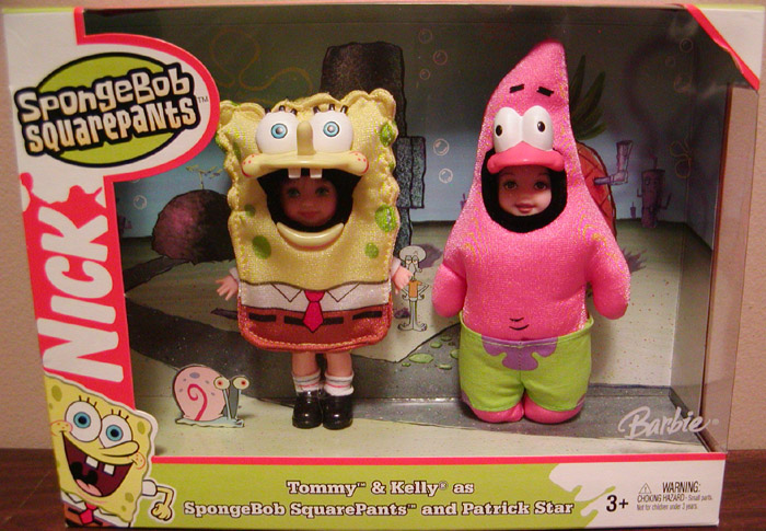 Tommy & Kelly as SpongeBob SquarePants and Patrick Star