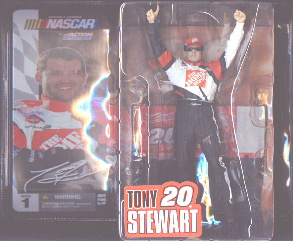 Tony Stewart (Series 1 Chase Variant, with hat & sunglasses)