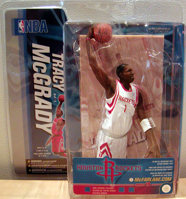 Tracy McGrady (series 10, white uniform)