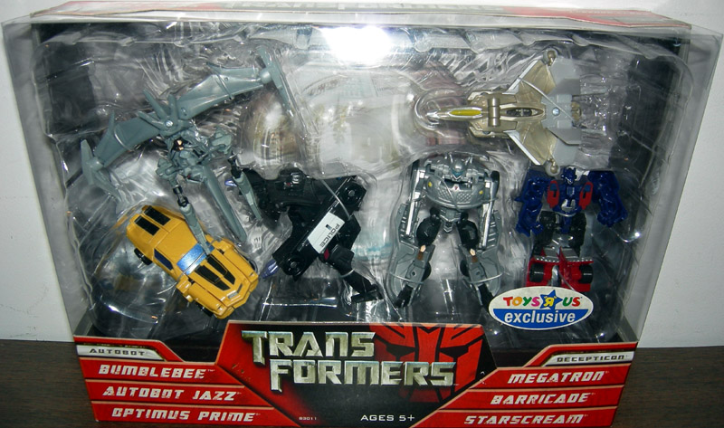 Transformers Legends 6-Pack (Battle For The Allspark)