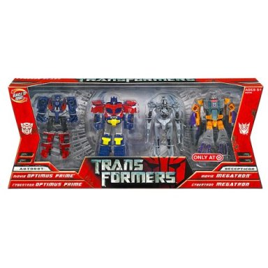 Transformers Movie Legends 4-Pack