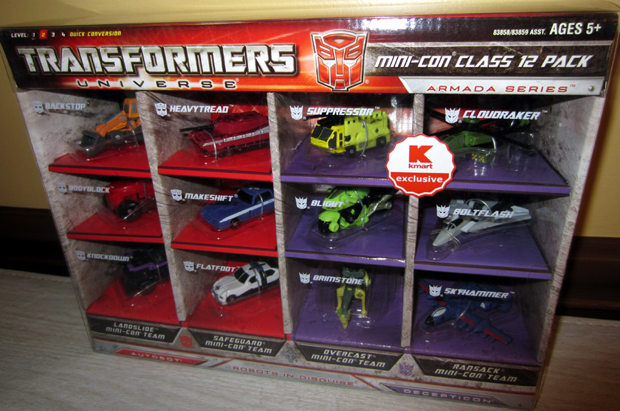 Transformers Universe Mini-Con Class 12 Pack (Armada Series)