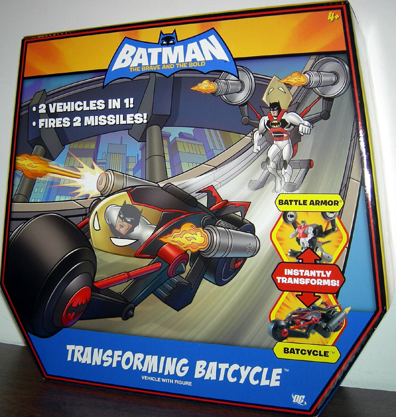 Transforming Batcycle (The Brave and The Bold)