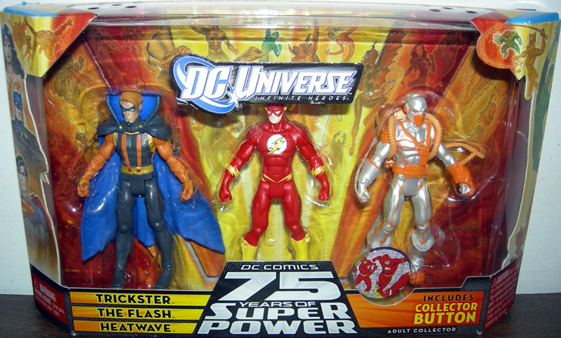Trickster, The Flash & Heatwave 3-Pack