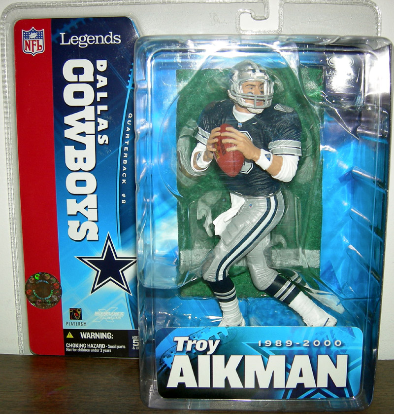 Troy Aikman (Legends, blue jersey)