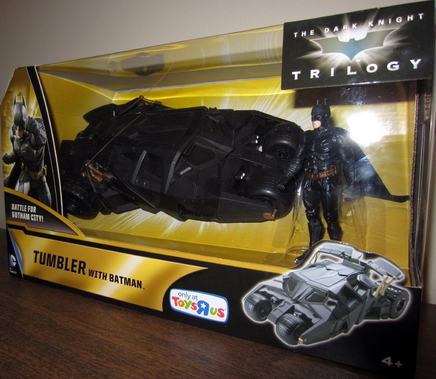 Tumbler with Batman (Dark Knight Trilogy, Toys R Us Exclusive)