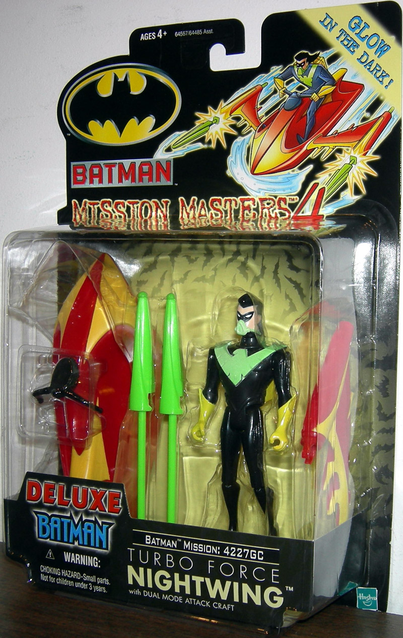 Turbo Force Nightwing (Mission Masters 4)