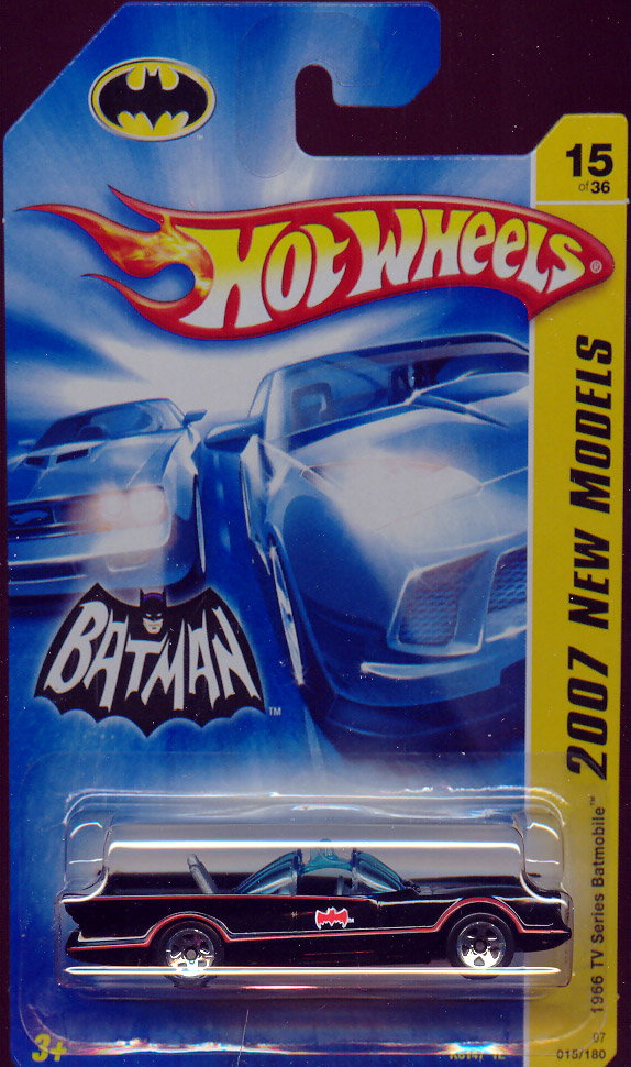 1966 TV Batmobile, Hot Wheels