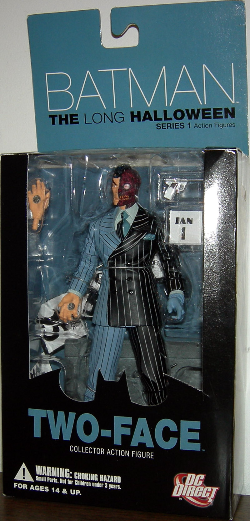 Two-Face Batman Long Halloween Series 1 Collector Action Figure