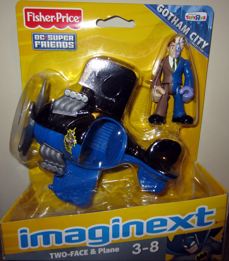 Two-Face & Plane (Imaginext, Toys R Us Exclusive)