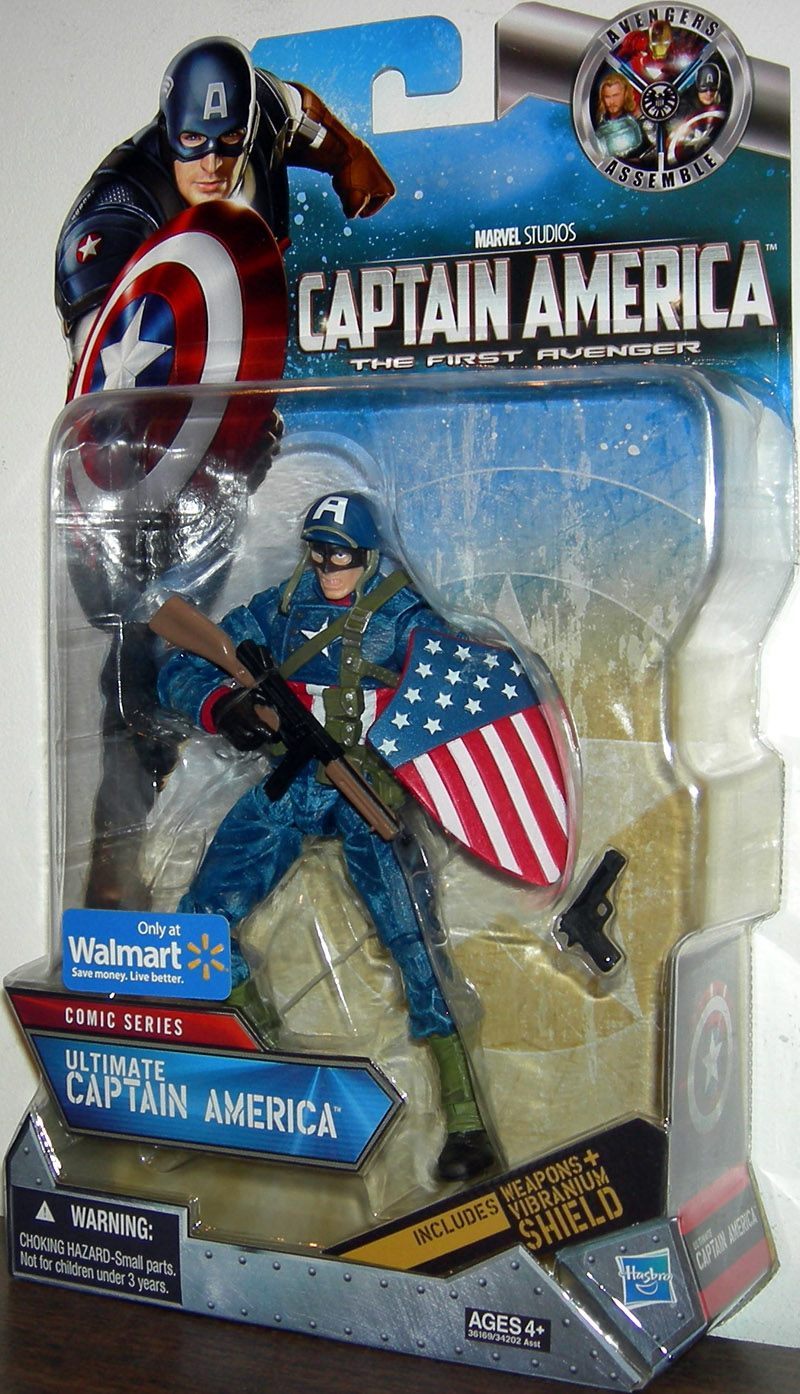Ultimate Captain America (Comic Series, Walmart Exclusive)