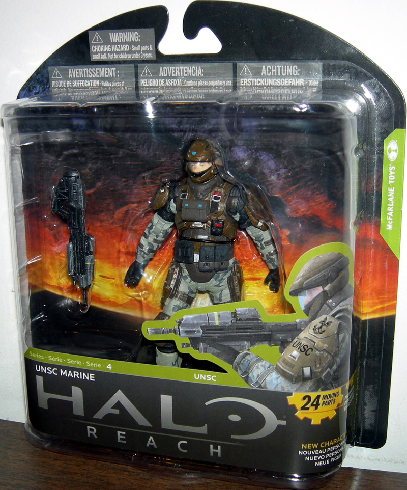 UNSC Marine (Halo Reach, Series 4)