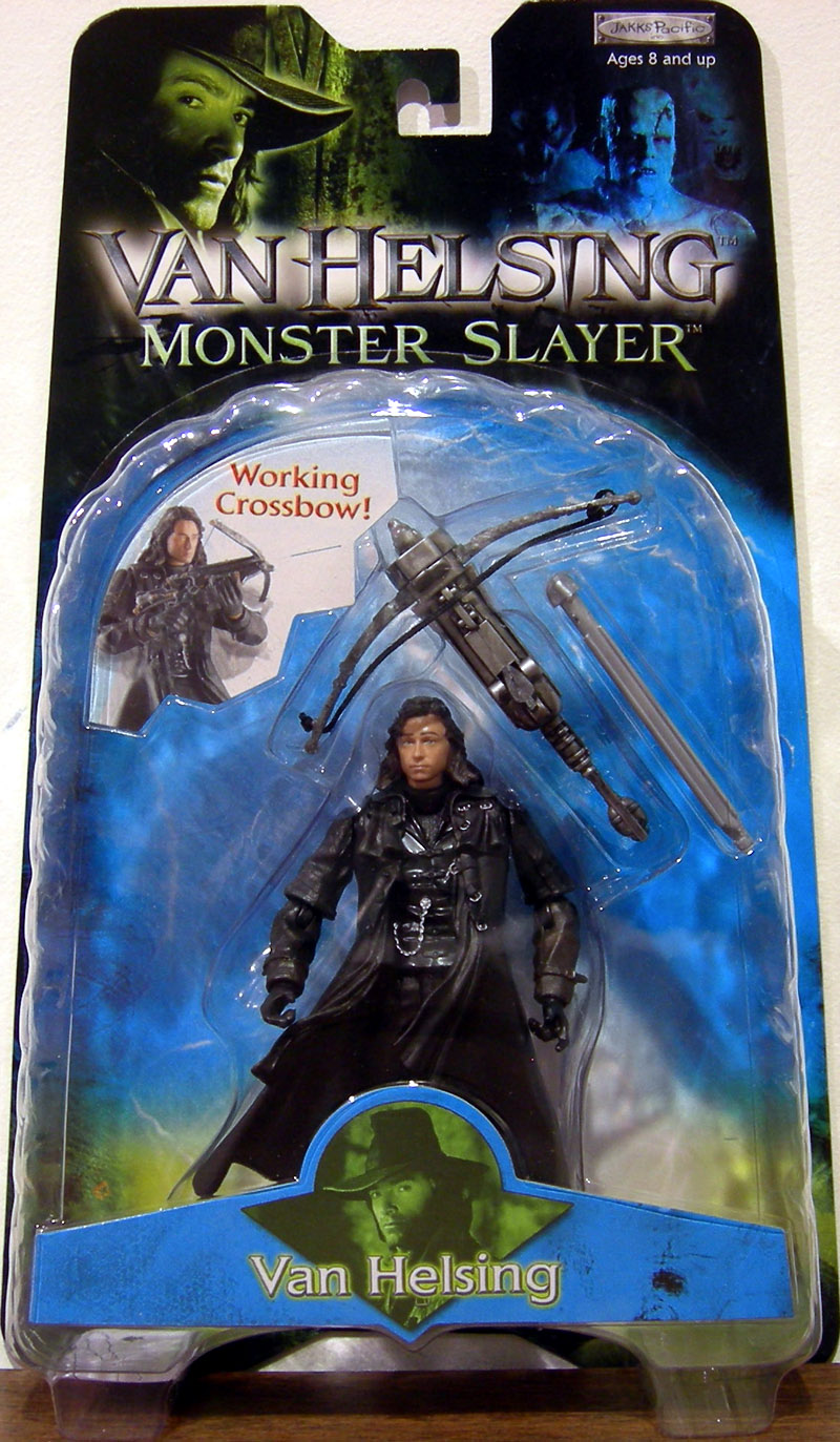 Van Helsing (with working crossbow)