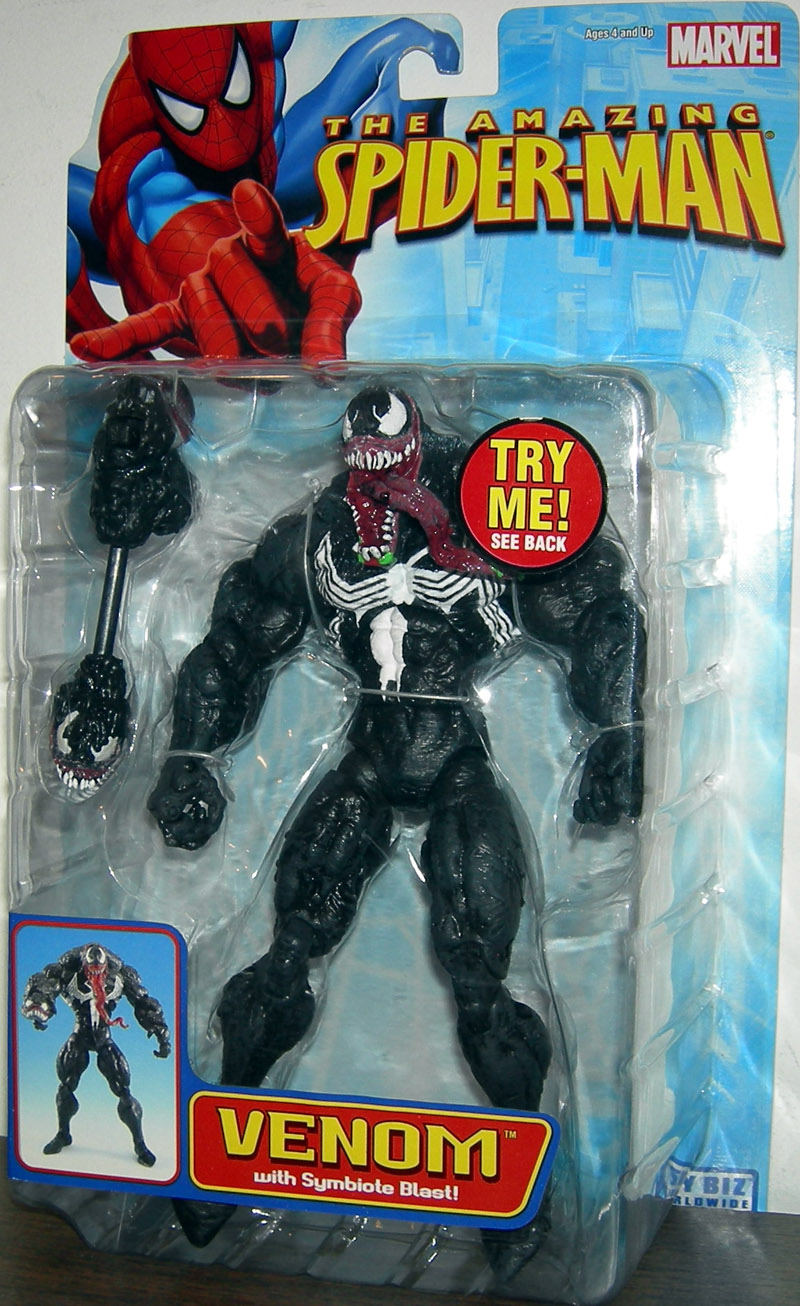 Venom with Symbiote Blast (The Amazing Spider-Man)