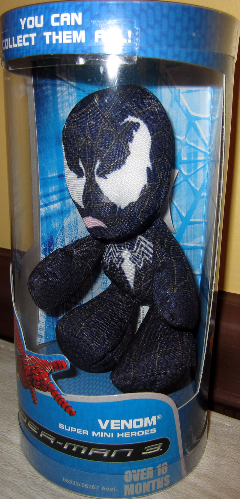 Venom Super Mini Heroes Plush (Spider-Man 3)