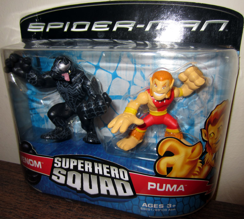 Venom & Puma (Super Hero Squad)