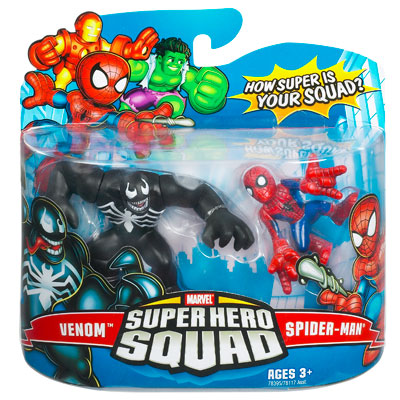 Venom & Spider-Man (Super Hero Squad)
