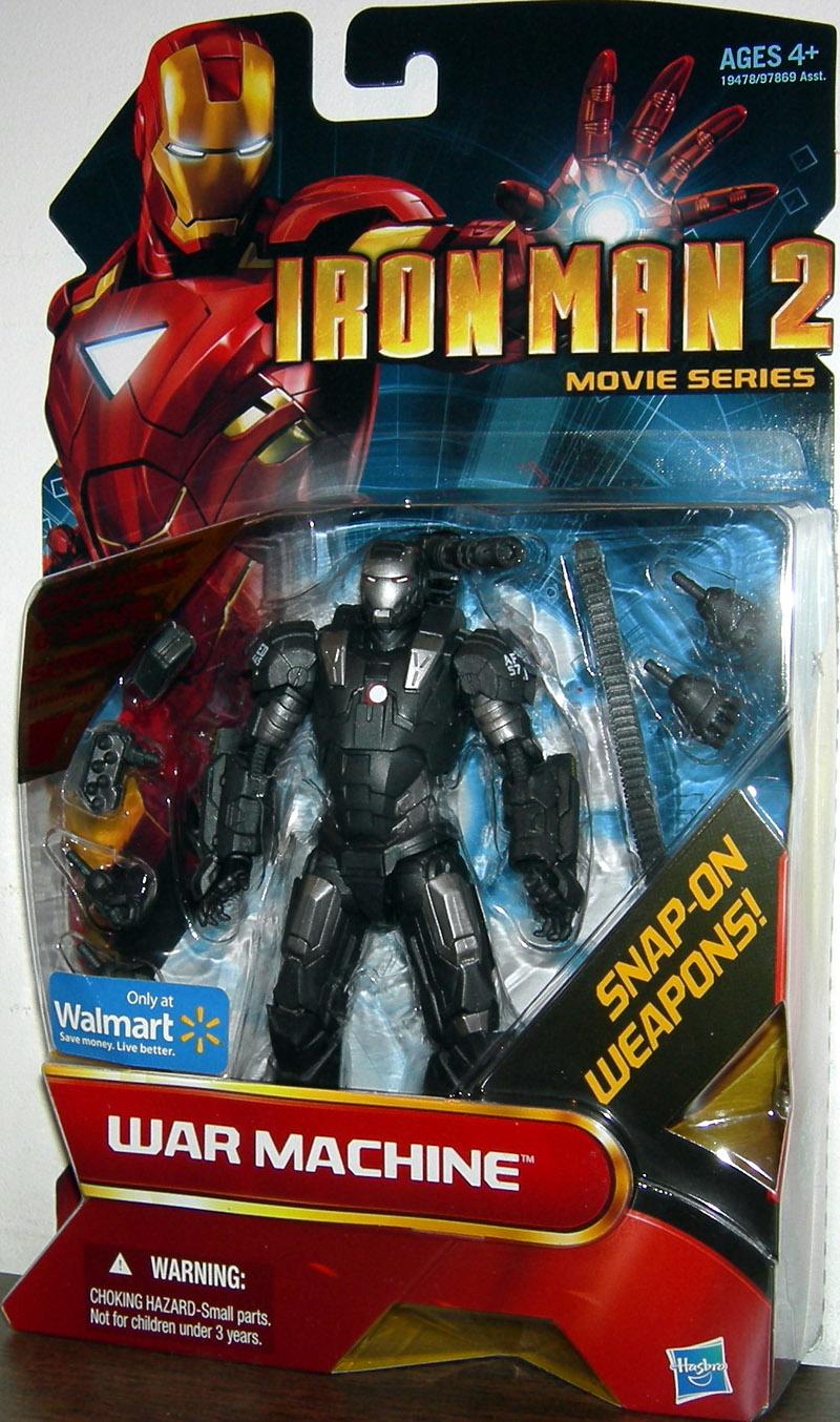 War Machine Figure Iron Man 2 Movie Series Walmart Exclusive