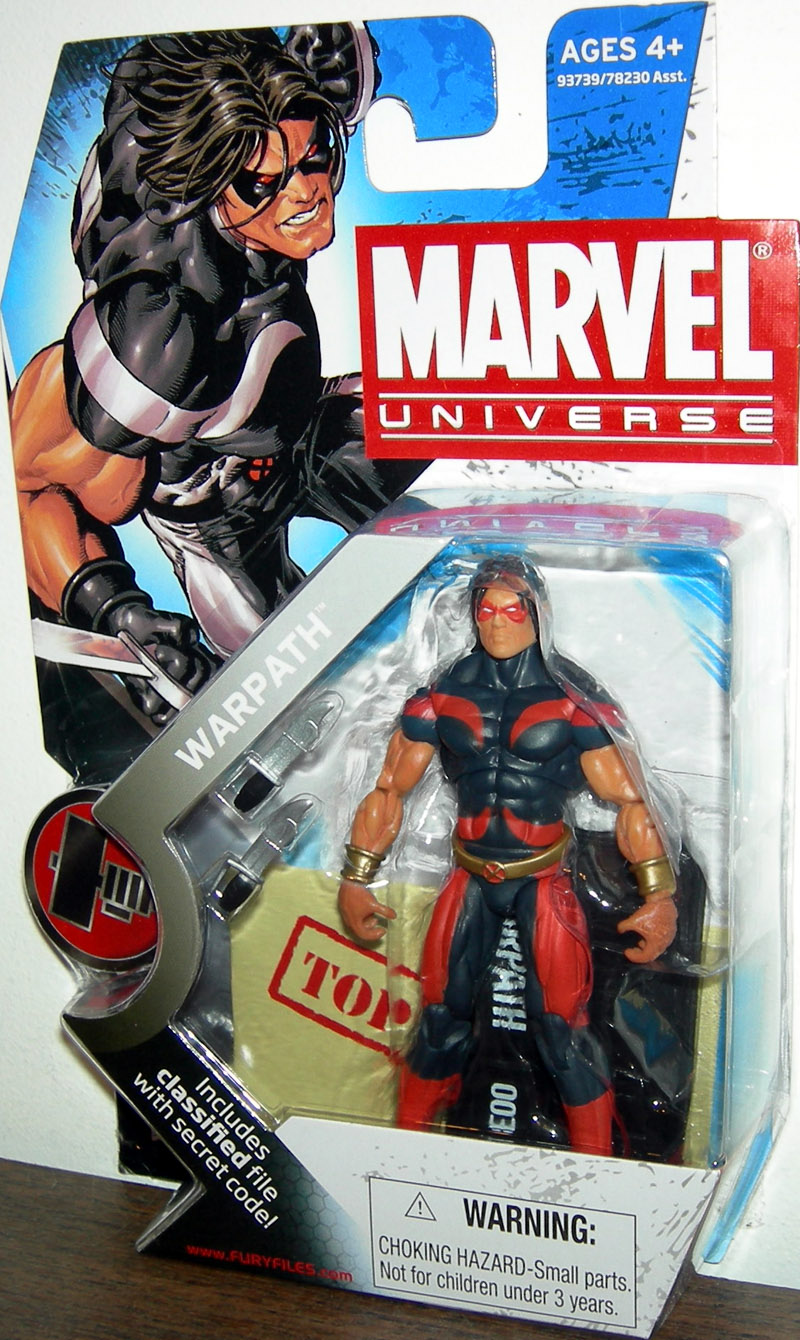 Warpath (Marvel Universe, series 2, 003, variant)
