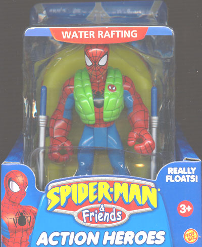 Water Rafting Spider-Man