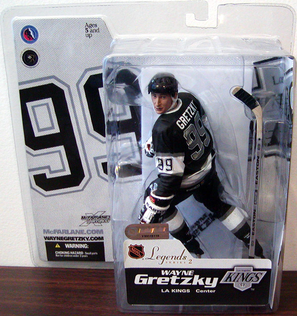 Wayne Gretzky (Legends 2, black jersey)