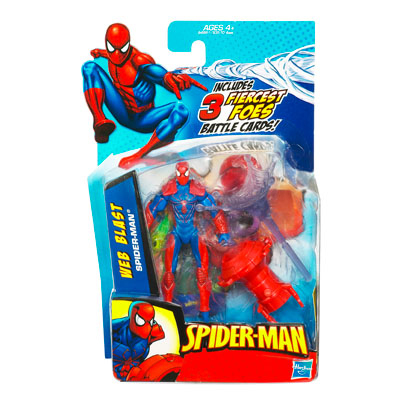Web Blast Spider-Man