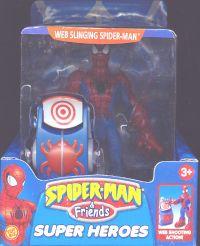 Web-Slinging Spider-Man (Spider-Man & Friends)