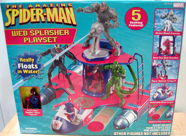Web Splasher Playset (The Amazing Spider-Man)