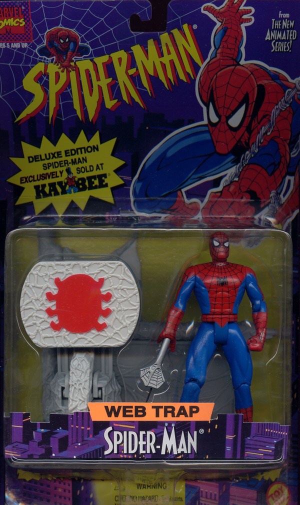 Web Trap Spider-Man, Kay Bee Exclusive (Spider-Man Animated)