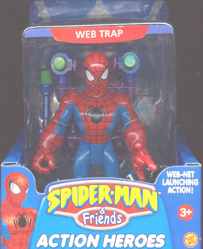 Web Trap Spider-Man (Spider-Man & Friends)
