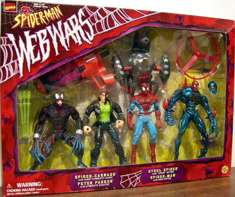 Web Wars 4-Pack