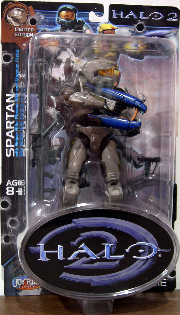 White Spartan (Halo 2, Limited Edition, Battle Damaged)