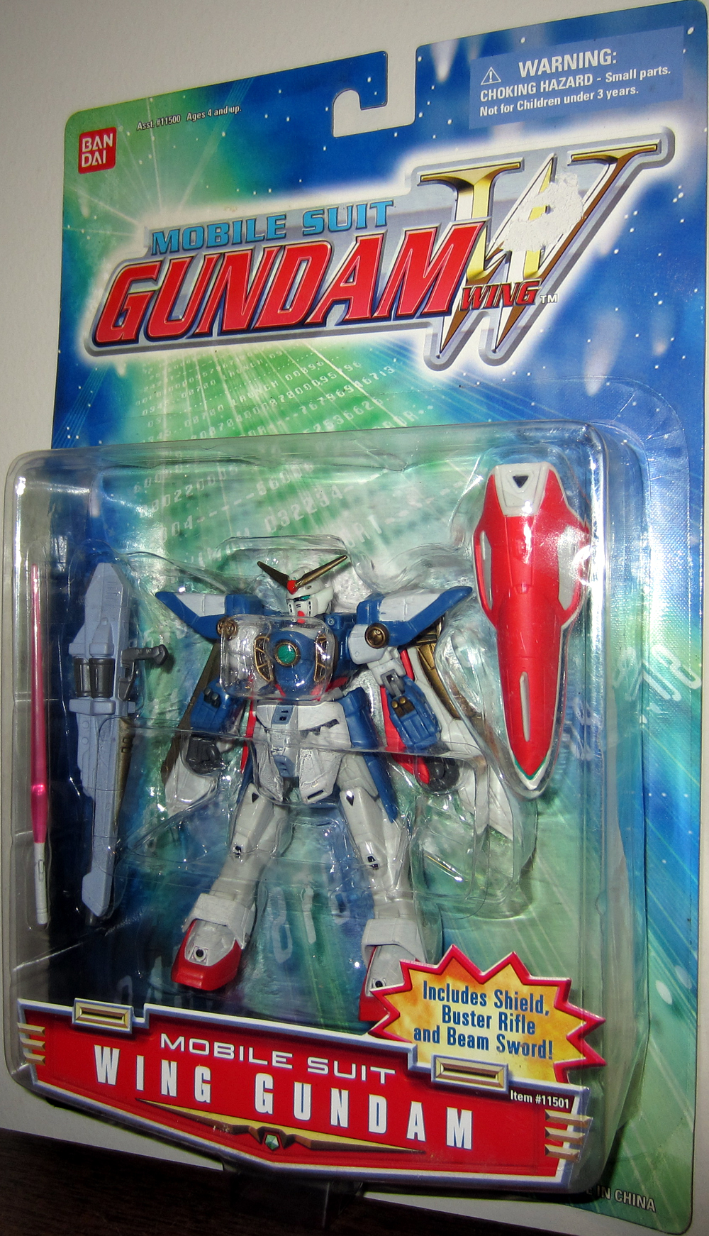 Wing Gundam (gold markings)