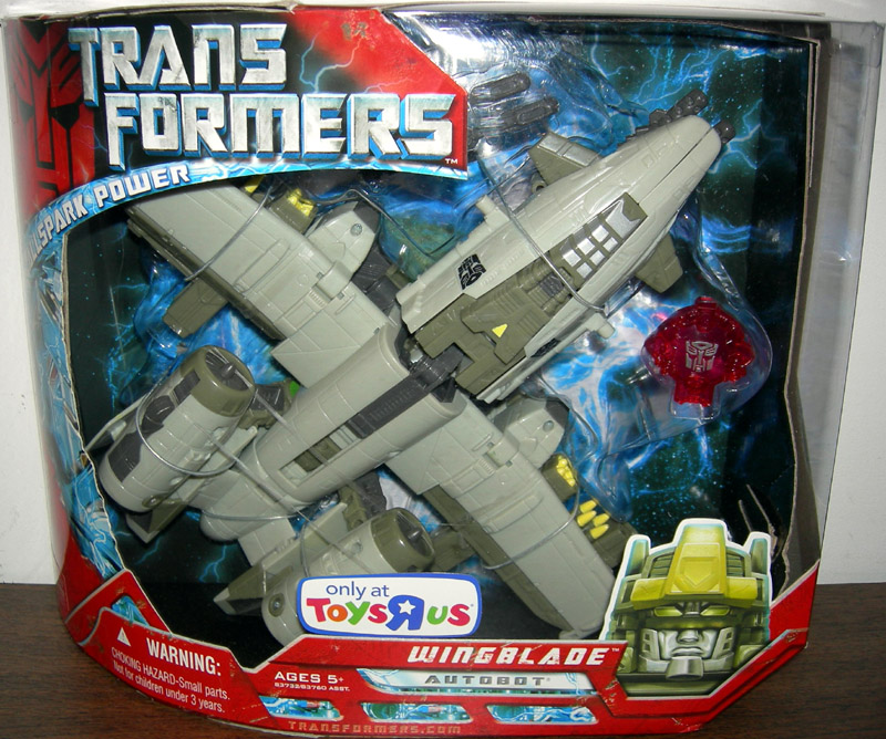 Best Transformers Toys And Action Figures : Wingblade action figure ultra class transformers toys r us
