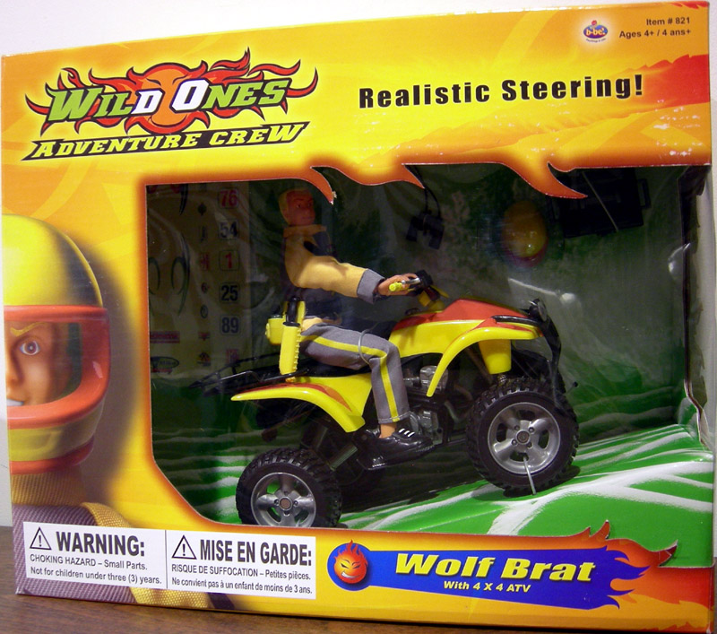 B-Bel Wild Ones Adventure Crew ATV Rider